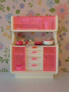 Salle de bain Barbie, Mobilier Barbie vintage, Jouet vintage ...