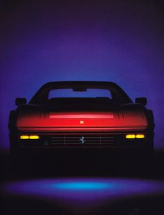 Ferrari, Town & Country magazine, April 1986.