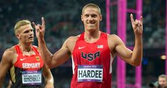 Texas Longhorns  LONGHORNS IN LONDON [Thu 8/9 recap]: Trey Hardee wins the silver medal in the Olympic decathlon, the first Longhorn to medal in that event. Destinee Hooker has 21 kills and 24 points in USA Volleyball's 3-0 sweep of Korea in a semifinal match. Samyr Laine finishes in 11th place in the men's triple jump final in his first Olympics. Bianca Knight runs the third leg of the women's 4x100m relay to help qualify the USA for Friday's final.