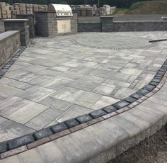 Slate Finish Ledgestone Cambridge Pavers