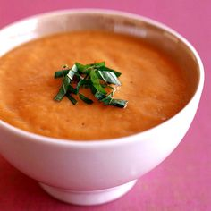 Weight Watchers Creamy Thai Carrot Soup: 2 Points+
