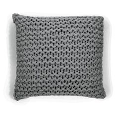 Check out this item at One Kings Lane! Links 18x18 Alpaca Pillow, Gray