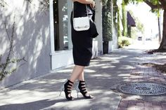 Louise Roe wearing BNKR - How To Style Black and White - Front Roe fashion blog