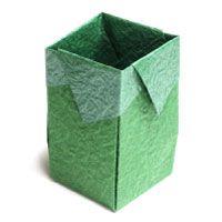 trash origami box II