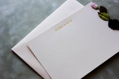 Wedding Thank you cards / Stationery / by AlternativeJournals