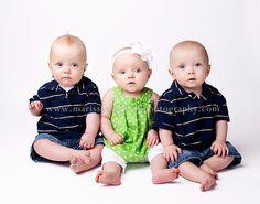 The triplets   Utah baby photographer