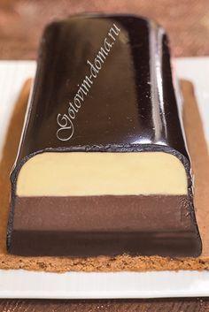 "Рецепт: Помадка ""3 шоколада"" (Fondant aux 3 chocolats)"