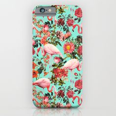 Check out society6curated.com for more! @society6 #floral #flowers #pattern #phone #case #phonecase #accessory #accessories #fashion #style #buy #shop #sale #cool #sweet #rad #awesome #fun #beautiful #beauty #pretty #botanical #iphone #products #product  #botanical #flamingo #pink #red #blue #green