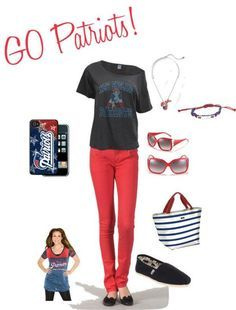 ne patriot outfit - Google Search