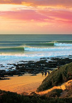 Jeffrey's Bay South Africa | photo by Ted Grambeau
