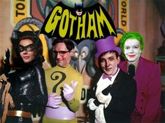 Batman: The Movie — Lee Meriwether as Catwoman, Frank Gorshin as The Riddler, Burgess Meredith as The Penguin & Cesar Romero as The Joker. (The beautiful Julie Newmar played Catwoman on the TV Series) Lee Meriwether, Batman 1966, Im Batman, Batman Robin, Batman Stuff, Superman Comic, Gotham Batman, Cosplay Gatúbela, Catwoman Cosplay