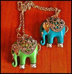 Elefantes de la suerte.