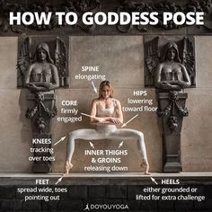 Become a goddess What are your favorite cues for Goddess Pose? Photo by amazing DYY ambassadors @yogogirls