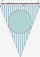 Resultado de imagen de banderines para fiestas imprimibles
