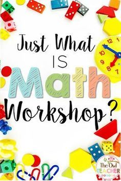 Teaching in the math workshop model helps teach independence and allows for more small group activities. So what is math workshop? Check this post out!