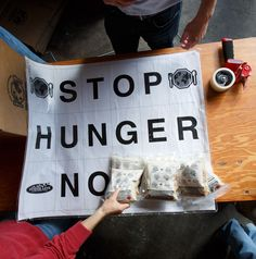 Packing 20,000 meals for Stop Hunger Now