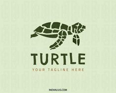 Animal logo with the shape of a turtle with style mosaic with green colors.(turtle,animal,mascot,sea,mosaic,abstract,ecology,green,sea tortoise,pet shop,zoo,, logo for sale, logo design, logo, logotype, logotipo, vector, illustration).