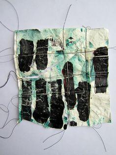 ...: paper, paint, stitch: