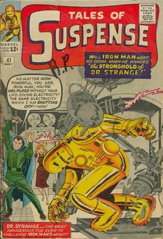 Tales of Suspense , Iron Man by Jack Kirby