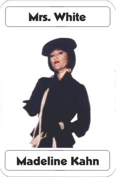 Madeline Kahn as Mrs. Madeline Kahn, Clue Costume, Clue Movie, Clue Party, Clue Games, Girl Sleepover, Young Frankenstein, Childhood Movies, Culture Shock