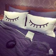 Federe Eye of dreamer   > shop > dream-shop.it/completi-letto.html