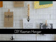 DIY Kaarten Hanger |