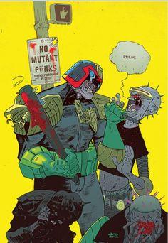 Judge Dredd by Frank Miller