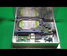 Aluminium Gehäuse für den Raspberry Pi selberbauen. DIY Aluminum Case for Raspberry.