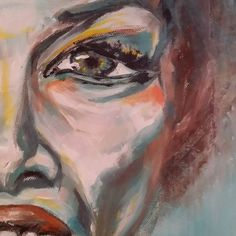 Lazy Sundays are made for art Lazy Sunday, Detail Art, Acrylic Art, Canvas, Face, Instagram Posts, Painting, Color, Tela