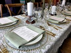 Table setting. You can rent all these equipment so you can save money for your  reception or special events