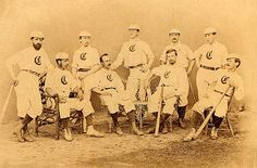 1868 Cincinnati Red Stockings