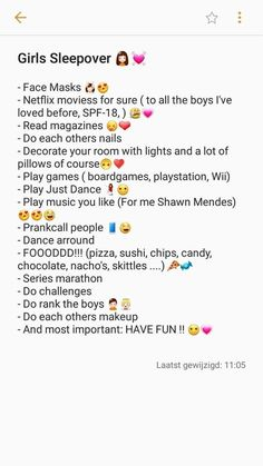The perfect sleepover! 👧♥️ - - Summer Party - The perfect sleepover! 👧♥️ - The perfect sleepover! Girl Sleepover Games, Birthday Sleepover Ideas, Things To Do At A Sleepover, 13th Birthday Parties, Birthday Party For Teens, Slumber Parties, Cool Sleepover Ideas, Ideas For Sleepovers, Party Ideas For Teenagers