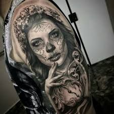 Image result for catrina tattoo