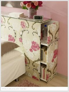 Great idea for a dorm room or small space