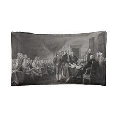 Declaration of Independence Makeup Bag