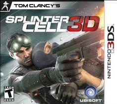 Tom Clancy S Splinter Cell 3d Nintendo 3ds Standard Edition