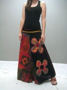 Gypsy skirt 228.1 by thaitee on Etsy, $45.00