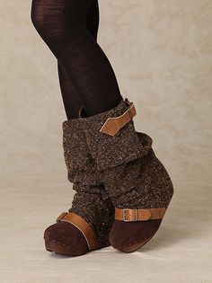 Irregular Choice Longer Lashes Clog Boot at Free People Clothing Boutique》 I need these NOW!!!!! :) i freaking Love these, so perfect... *my style