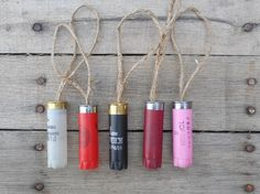 Shot Gun Shell Ornaments Country Christmas by DownInTheBoondocks