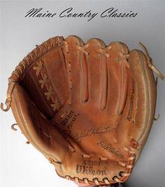 Vintage Jim Catfish Hunter Autograph Model Baseball Glove Wilson A2161 | eBay
