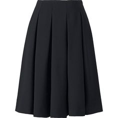 WOMEN CREPE TUCKED SKIRT
