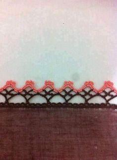 Crotchet, Crochet Lace, Crochet Stitches, Drawn Thread, Thread Work, Crochet Boarders, Let's Make Art, Japanese Embroidery, Border Design