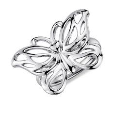Butterfly Ring in Sterling Silver from Blue Nile
