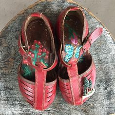 Little red riding hood's schoes