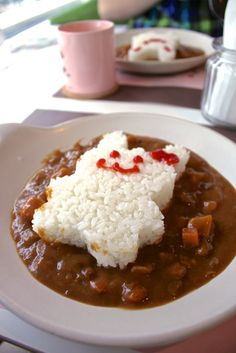 bunny curry rice