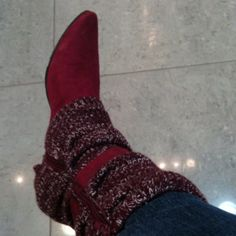 Red Boots by Feel Free