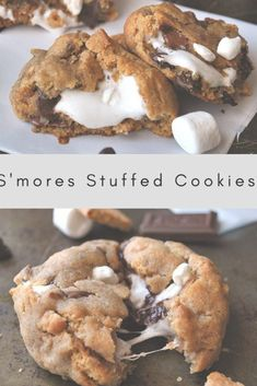 nothing better than these s'mores cookies. They are a constant family hi There's nothing better than these s'mores cookies. They are a constant family hi. -There's nothing better than these s'mores cookies. They are a constant family hi. Think Food, Love Food, Easy Cookie Recipes, Sweet Recipes, Brownie Recipes, Fun Baking Recipes, Cupcake Recipes, Cookie Ideas, Chocolate Chip Recipes