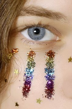 Arcoiris. @lottiefrank this is our wilderness make up!!!!!!!!