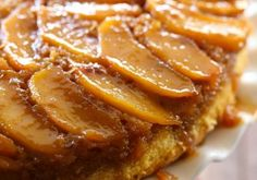 Caramel Peach Upside Down Cake from chef-in-training.com ...So much flavor fused into each and every bite! This cake is delicious!