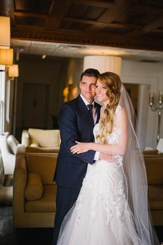 Love this shot of the bride and groom at Casa Esencia at Hotel Albuquerque at Old Town | Photography by Lisa Merino